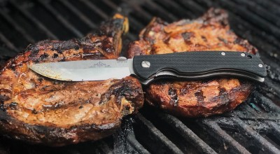 Photo of the day: Emerson Carnivore personal high-end steak knife