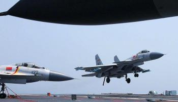 Chinese fighter goes down near South China Sea island, both pilots lost