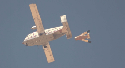 Watch: DARPA and the Marine Corps are testing plywood drones for cheap resupply missions