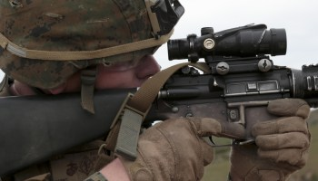 Marine Corps is running out of rifle optics for new recruits