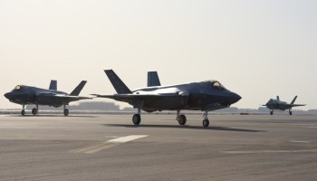 Air Force F-35s have been deployed to the Middle East