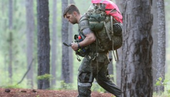 Counting the miles toward a Green Beret