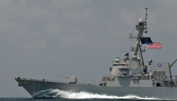 Iranian mines almost sink two tankers as US Navy responds