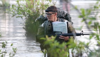 The road to become a Green Beret is long and wet