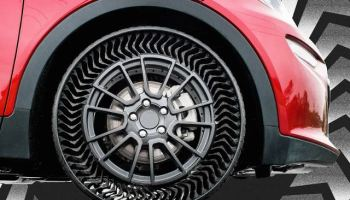 The end of flat tires? Michelin plans to sell airless tires by 2024