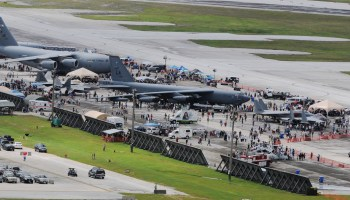Breaking: Man stabs security officer at Air Force base, gets killed