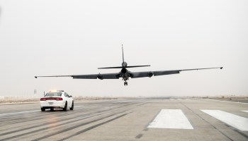 The US uses muscle cars to help land the U-2, but red tape may leave these Chargers grounded