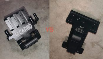 Kel-Tec Sub 2000 Optic Mount head-to-head review between MCARBO and Midwest Industries