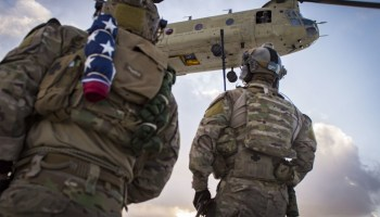 Pentagon releases names of two Special Forces operators killed in Afghanistan