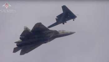 Russia just released a video of their most advanced stealth platforms flying together for the first time