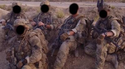 (SAS operators in Afghanistan)