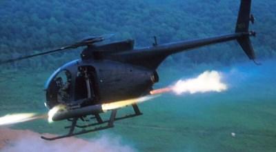 AH-6 Little Bird. (Image courtesy of U.S. Army).