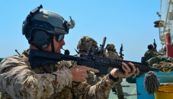 SOCOM's newest helmet for Navy SEALs and SWCC operators has some potential issues
