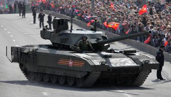 Russia's about to receive its first batch of their most advanced tanks ever