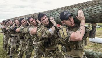 Top Crossfit Athletes try Special Forces training