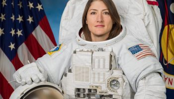NASA Astronaut Christina Koch has now been in space longer than any woman in history