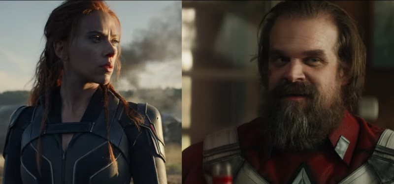 The New Black Widow Trailer Features A Team Up With The