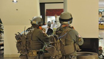There I was, active shooter in JKF airport