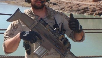 His Navy SEAL son committed suicide, now he fights for his name
