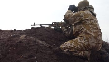 Ukrainian forces under heavy assault from Russian-backed separatists