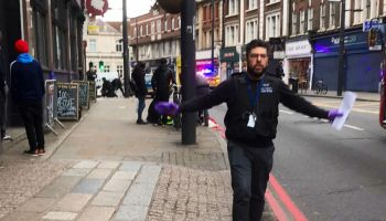 Breaking: Terrorist goes on a stabbing spree in London (Graphic Images)