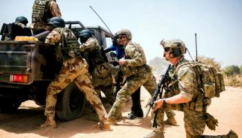 The Winds of Change Blow in Africa: 101st Paratroopers out, Security Forces in
