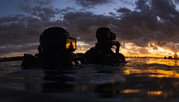 Combat Controller perishes during open water swim