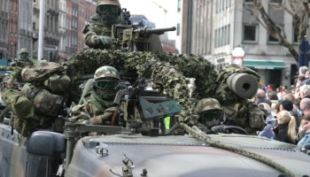 Irish top Special Operations unit returns from Africa