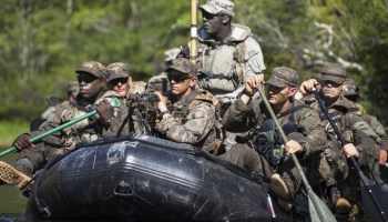 The Waterborne Infiltration Course, the Special Forces Version of Ranger School