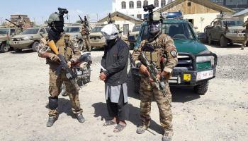 Afghan intelligence operators capture the leader of ISIS in Afghanistan