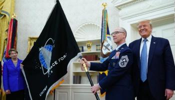 Space Force gets its own flag and releases kick-ass recruitment video