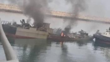 Iranians strike their own ship in a friendly-fire incident, 19 dead