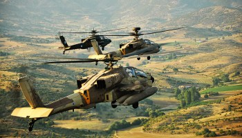 Israeli helicopters attack Iranian positions in the Golan Heights