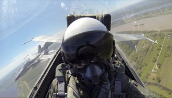 Becoming a fighter pilot: Make them tell you no!