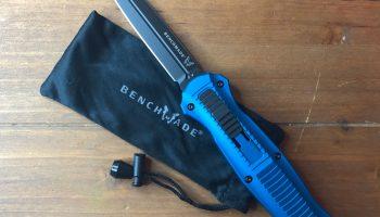 Sneak peek: Benchmade Infidel 3300BK-2001 auto-open dagger