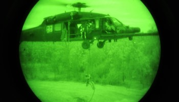 Helicopter crash kills 2 Special Operations soldiers, injures 3