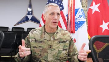 Army Relieves Fort Hood's General Efflandt of Command
