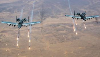 US Airstrikes Pound Taliban Forces In Helmand Province