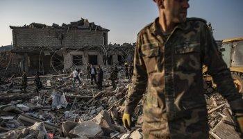 Death Toll In Azerbaijan-Armenia Fighting Climbs to Nearly 700