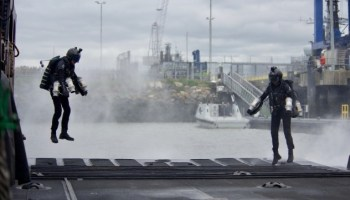 The Royal Navy is Testing Jet Pack Assault Teams
