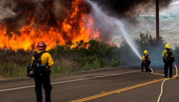 Fire Forces Camp Pendleton to Issue Mandatory Evacuations