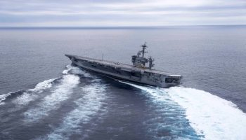 USS Nimitz Does an About Face and Heads Back to the Gulf