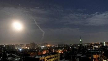 Israeli Airstrikes Blast Iranian Militias in Syria