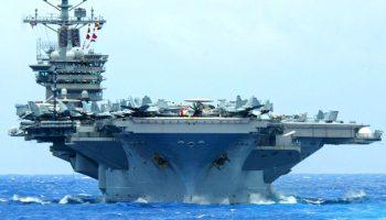 USS Nimitz Departs Persian Gulf Despite Mounting Tensions With Iran