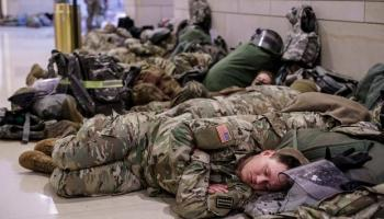Musings on the National Guard Sleeping in the Capitol