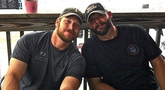Chad Littlefield and American Sniper Chris Kyle