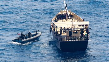 Navy Stops Smugglers Loaded With Russian Weapons Off Somali Coast
