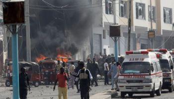 Suicide Car Bomb Explodes Near Parliament in Somalia