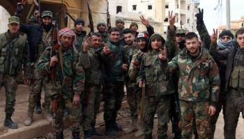 ISIS Ambushes Syrian Army Patrol, Kills 26 Regime Troops