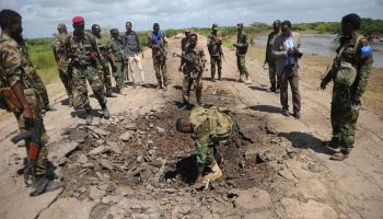 Somali Head of National Security Agency and 13 Troops Killed in IED Blast